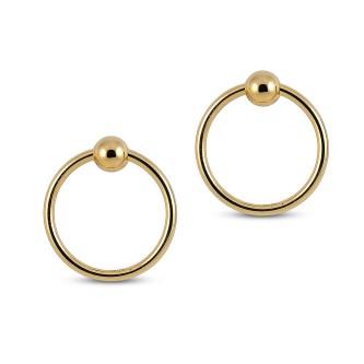 Luv AJ Fire Earrings