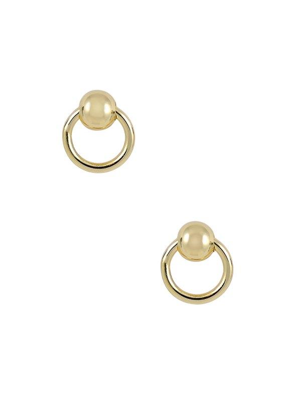 Luv AJ Ring of Fire Stud Earrings $33