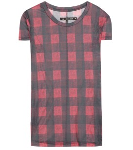 Rag & Bone/JEAN Buffalo Plaid Tee red