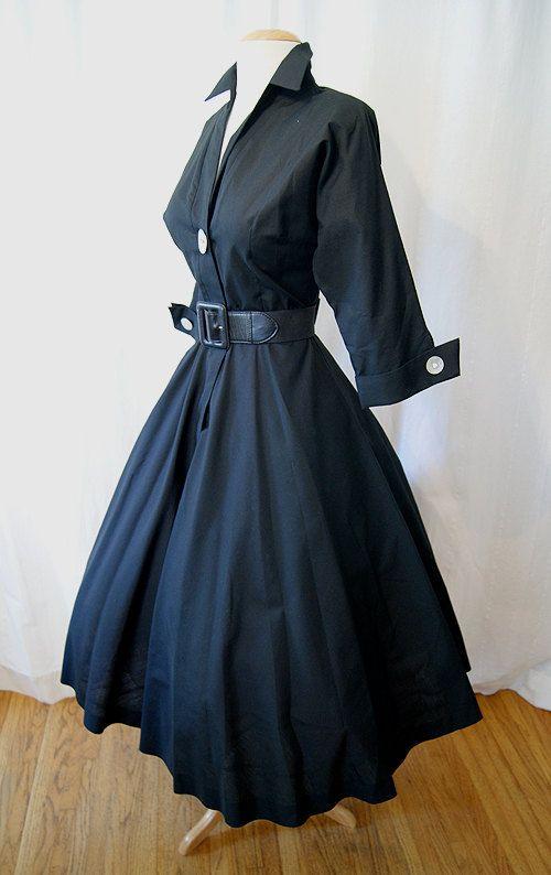 1950's Day Dress