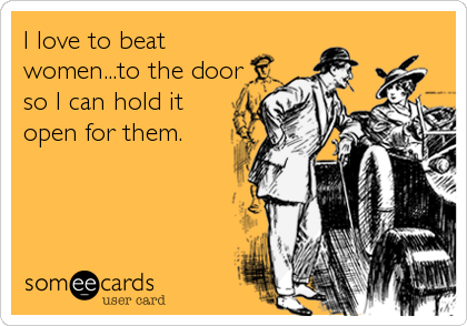 beat-women-to-the-door