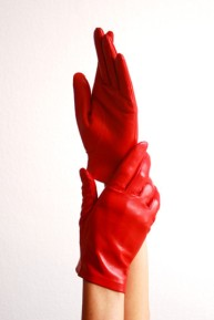 Ines SHORT GLACÉ LEATHER GLOVES FOR EVERYDAY