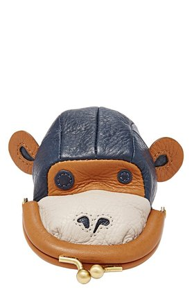 Monkey FOSSIL Monkey Coin Purse $96.96