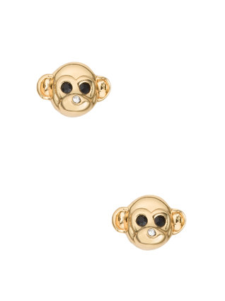 Monkey KATE SPADE Monkey See Monkey Do studs $98