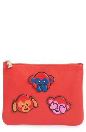 Monkey Rebecca Minkoff 'Chinese New Year' Monkey Sticker Set & Clutch $126.80