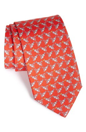 Monkey SALVATORE FERRAGAMO silk ties $283.43