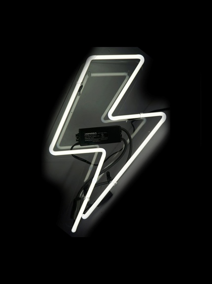 Oliver Gal Artist Co. Bolt Neon Sign (click to purchase)