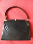 Vintage 1950's leather handbag