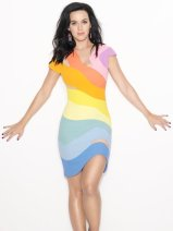 1990 Thierry Mugler Rainbow Dress Katie Perry
