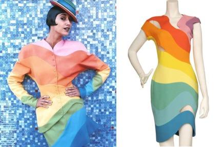 1990 Thierry Mugler Rainbow Suit 2