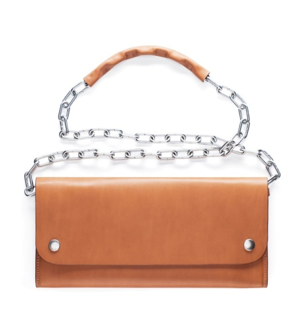 ACNE Shiloh Tan Crossbody Bag