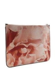 Alexander McQueen Medium Printed pouch pink