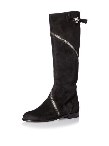 Alexander McQueen Suede Boot
