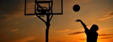 Athlete Basketball-Shot