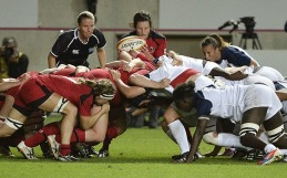 Athlete Womens Rugby
