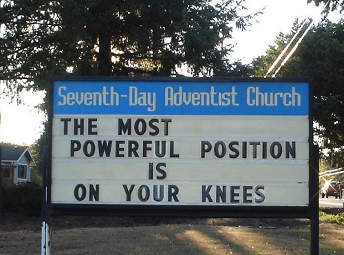 Church Sign...