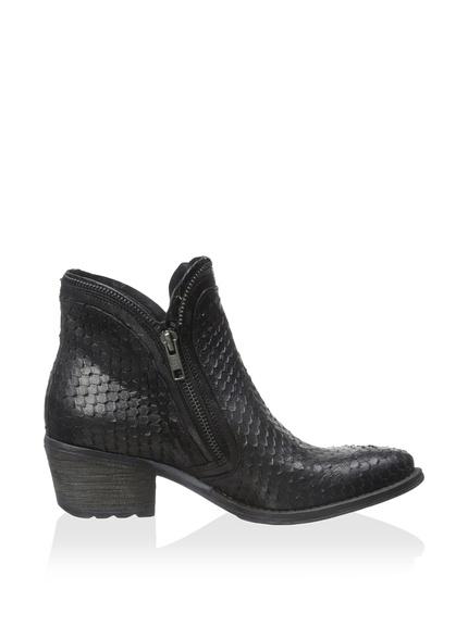 Khrio Slim Double Zip Ankle Boot2
