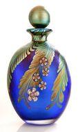 Perfume Bottle Okra Glass Paradise