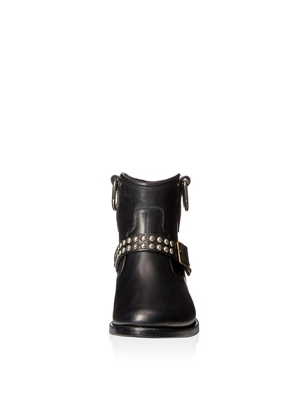 Saint Laurent Motorcycle Studded Strap Boot3
