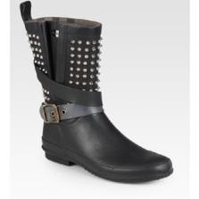 Burberry Studded Rain Boots