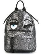 CHIARA FERRAGNI Flirting Backpack silver