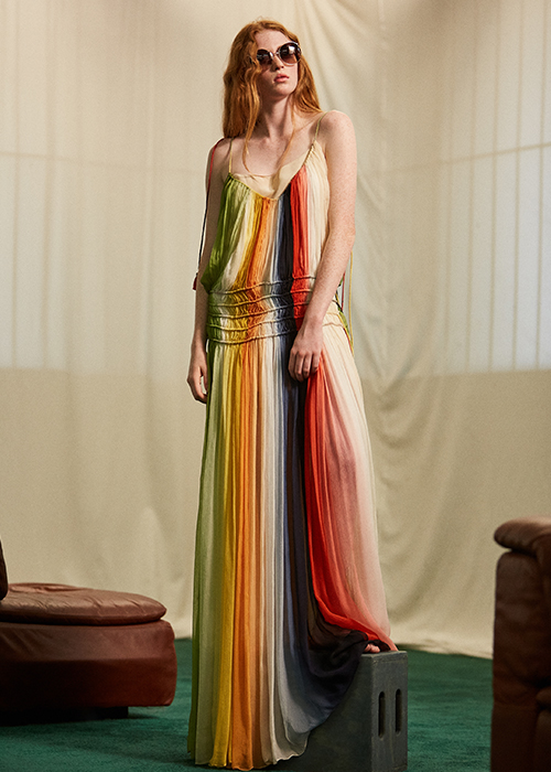Chloe Rainbow Dress