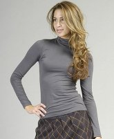 Forever Fashion Grey Turtleneck