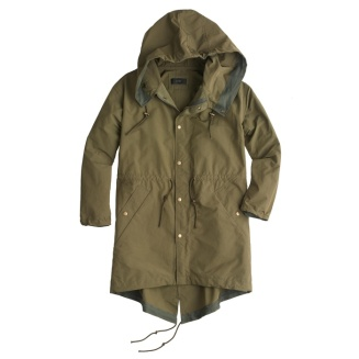 JCrew Fishtail Anorak