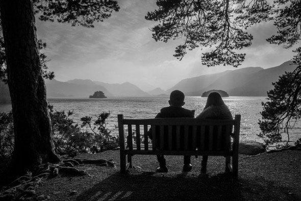 Bench Romance: CC Street Photography