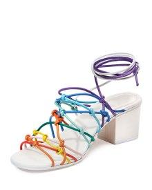 Chloe Rainbow Sandal Heel