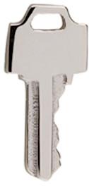 Lauren Klaussen White Gold Tiny Key Single Earring 14K $85