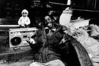 Len Speier Children with Boombox, East Harlem, 1980s.