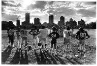 Len Speier Football, Central Park, 1968.