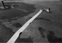 Len Speier Girl with Paper Roll, Riverside Park, 1979.