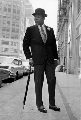Man in a suit Muhammad Ali