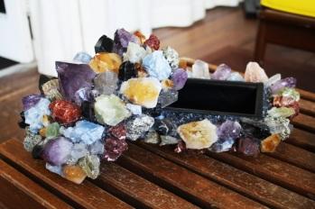 McCoy Multi-colored quartz jewelry box