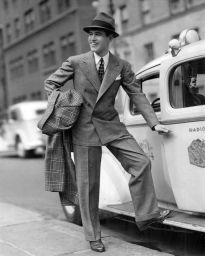 Men in suit 1940's