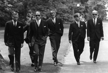 Men in suits Canadian Prime Minister Pierre Trudeau and his cabinet - 1968