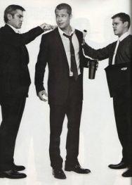 Men in suits Ocean's Eleven