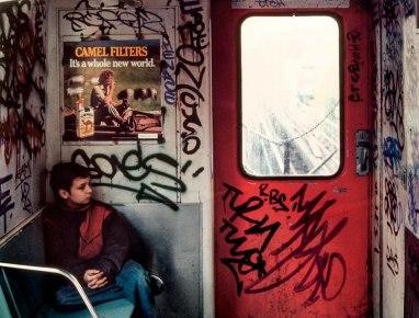 Robert Herman It's a Whole New World, Long Island City, NY, 1985.