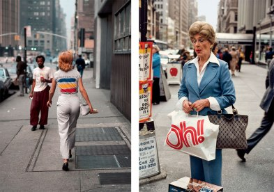 Robert Herman Left Synchronicity, New York, NY, 1983. Right Oh, New York, NY, 1980.