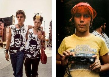 Robert Herman Left The Misfits, New York, NY, 1981. Right Close Encounters, New York, NY, 1981.