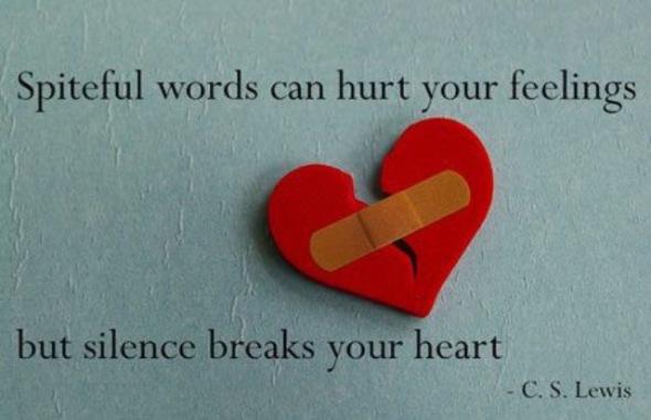 Silence Breaks Your Heart