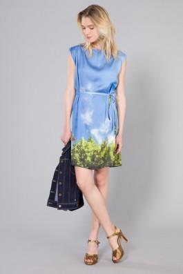 Agnes B Auxane Dress Model