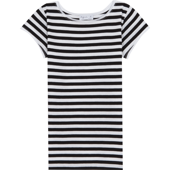 Agnes b. White/Black Australie T-shirt