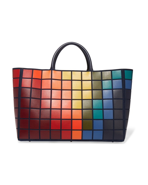 A/W 2016 Anya Hindmarch Ebury small Giant Pixels Tote