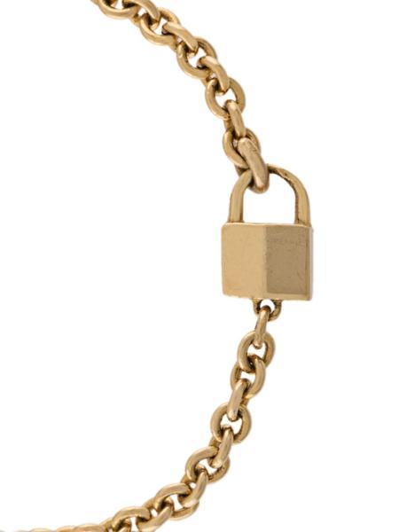 Lauren Klassen Tiny gold padlock ring 2