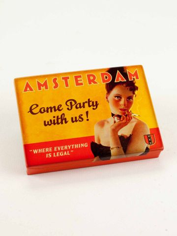 Amsterdam pocket tin