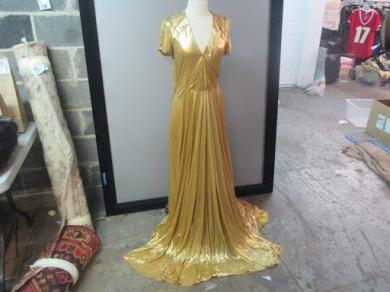 Bottega Veneta Gold Gown