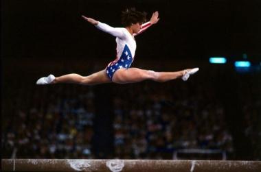 Olympic Athlete Mary-Lou-Retton-Photo Steve Powell Allsport